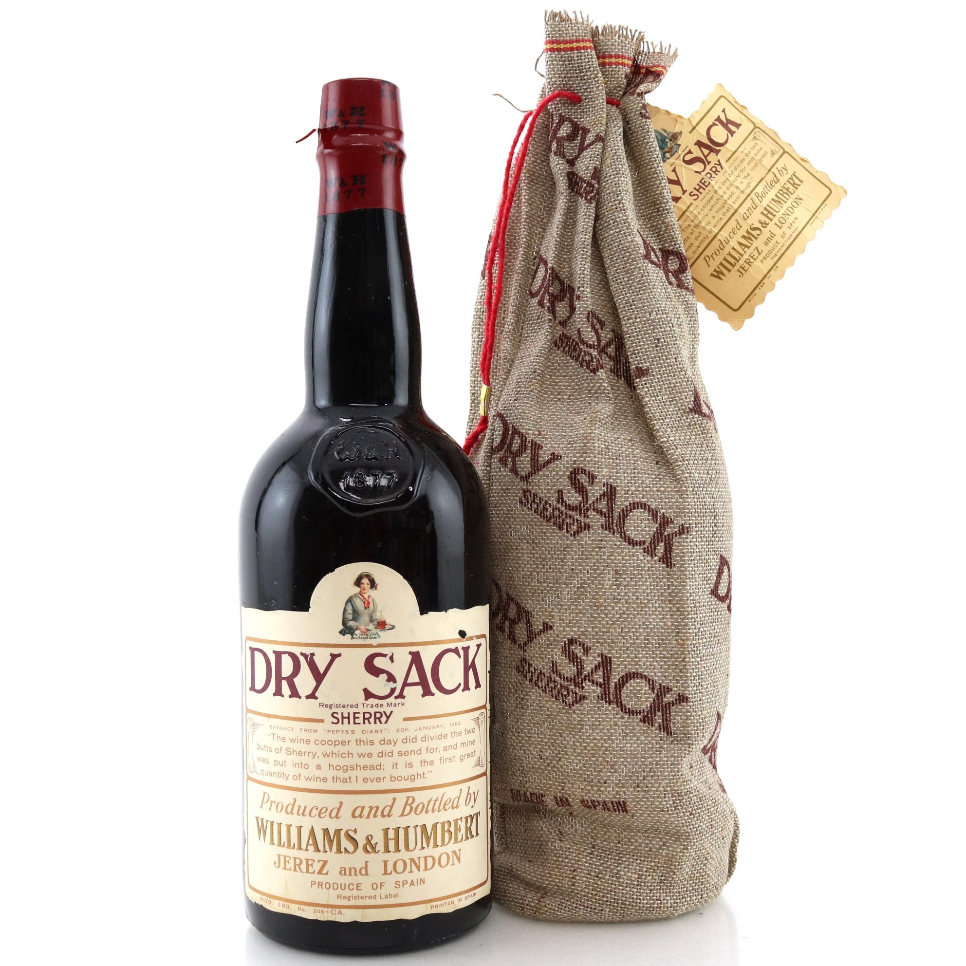Williams Humbert Dry Sack Sherry Wine Auctioneer