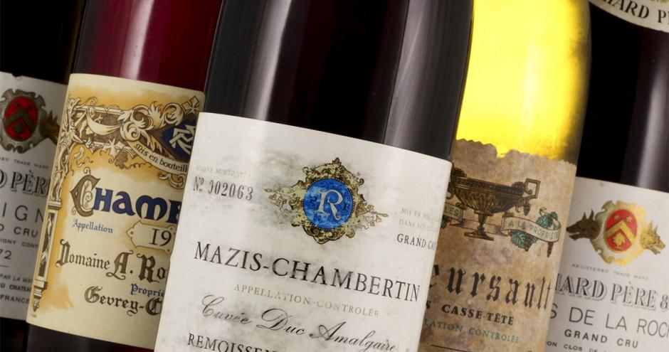 reading burgundy wine labels