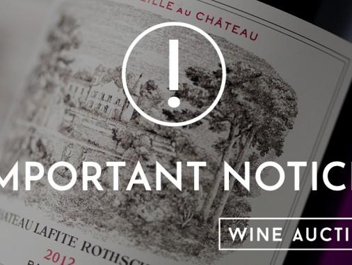 Important Customer Notice