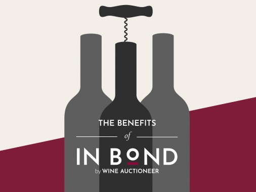 Buying wine in bond and selling wine in bond at auction