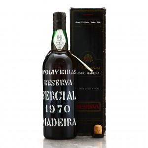 D'Oliveiras Reserva Sercial 1970 Madeira