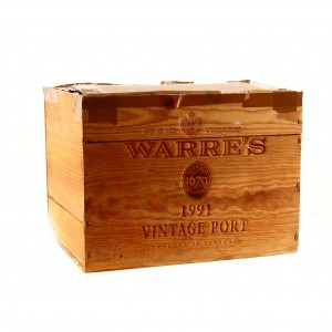 Warre's 1991 Vintage Port 11x75cl / OWC