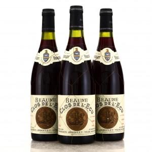 Dom. Jaboulet-Vercherre Clos De L'Ecu 1989 Beaune 1er-Cru 3x75cl