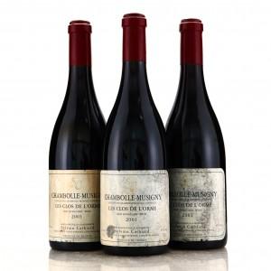 Dom. S.Cathiard Les Clos De l'Orme 2001 Chambolle-Musigny 3x75cl