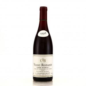 J.Coudray-Bizot Croix Rameau 1998 Vosne-Romanee 1er-Cru