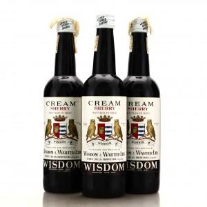 Wisdom & Warter NV Cream Sherry 3x70cl