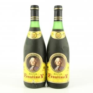 Faustino V 1982 Rioja Reserva 2x75cl