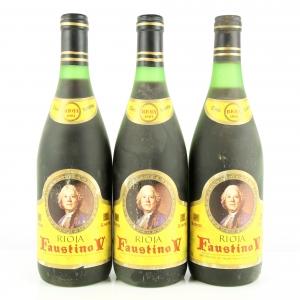 Faustino V 1981 Rioja Reserva 3x75cl