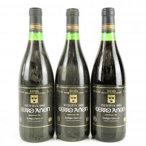 Cerro Añon 1988 Rioja Reserva 3x75cl