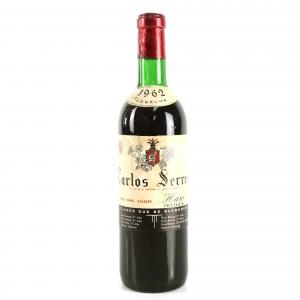 Carlos Serres 1962 Rioja Crianza