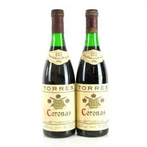 "Torres ""Coronas"" 1986 Penedes Reserva 2x70cl"