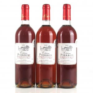 Pierron Rose 2009 Bordeaux 3x75cl