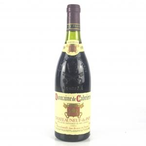 Dom. De Cabrieres 1986 Chateauneuf-Du-Pape