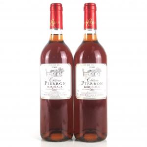 Pierron Rose 2008 Bordeaux 2x75cl
