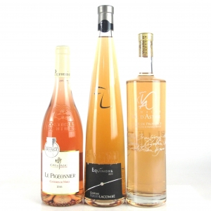 Assorted Southern French Rose Wines 3x75cl
