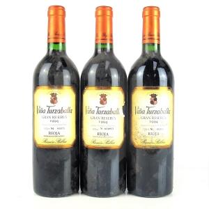 Vina Turzaballa 1994 Rioja Gran Reserva 3x75cl