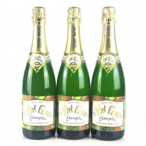 """Henri Maire """"Vin Fou"""" Sparkling Wines 3x75cl"""