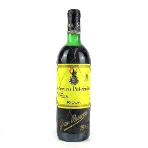 Federico Paternina 1975 Rioja Gran Reserva