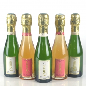 Cattier Brut & Rose NV Champagne 5x20cl