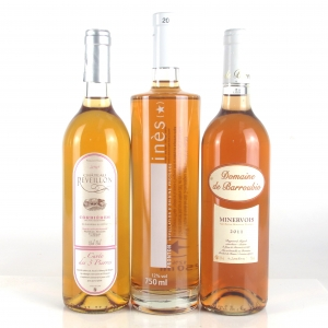 Assorted Southern French Rosé Wines 3x75cl