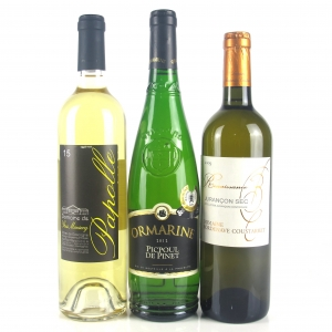 Assorted Southern French White Wines 3x75cl
