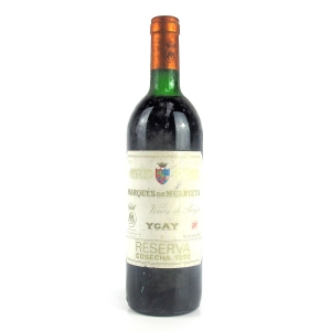 Marques De Murrieta 1970 Rioja Reserva