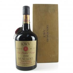KWV Muscadel 1930 Boberg