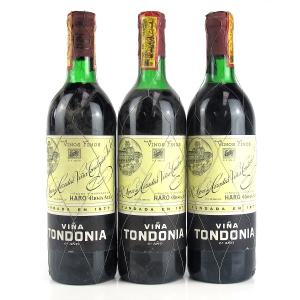 Viña Tondonia 6 Ano Rioja Gran Reserva 3x75cl