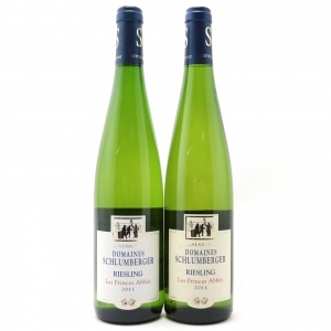Dom. Schlumberger Les Princes Abbes Riesling 2011 Alsace 2x75cl