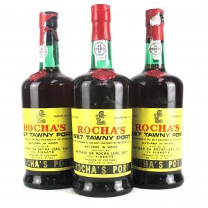 Rocha's 1967 Colheita Port 3x75cl