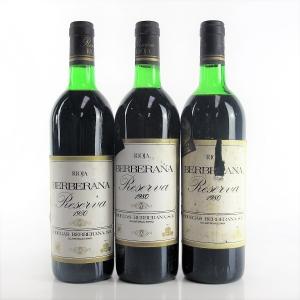 Berberana 1980 Rioja Reserva 3x75cl