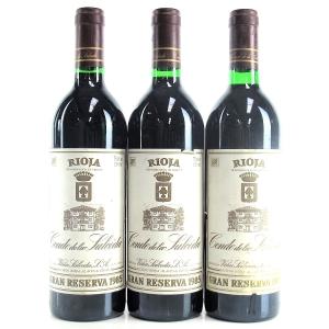 Viña Salceda 1985 Rioja Reserva 3x75cl