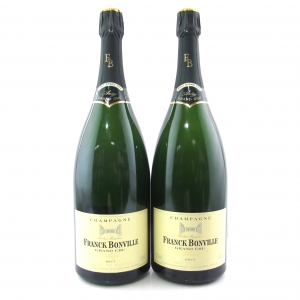 Franck Bonville Blanc-De-Blancs Brut NV Champagne 2x150cl
