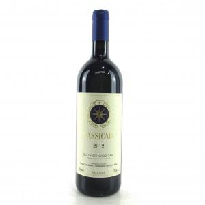 "Tenuta San Guido ""Sassicaia"" 2012 Tuscany"