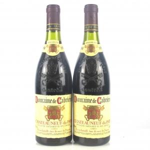 Dom. De Cabrieres 1986 Chateauneuf-Du-Pape 2x75cl