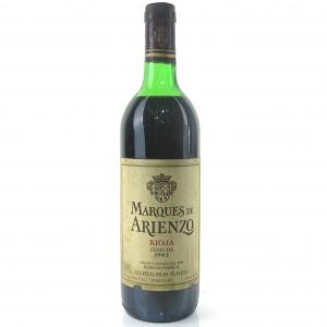 Marques De Arienzo 1982 Rioja