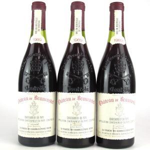 Ch. De Beaucastel 1989 Chateauneuf-Du-Pape 3x75cl