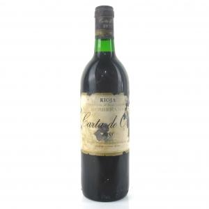 "Berberana ""Carta De Oro"" 1988 Rioja"