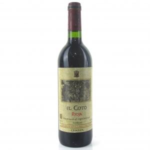 El Coto 1999 Rioja Crianza