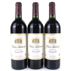 Viña Salceda 1991 Rioja Reserva 3x75cl