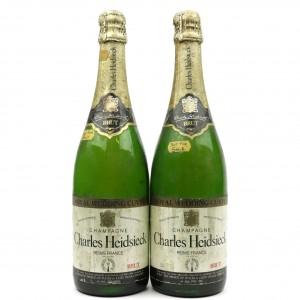 Charles Heidsieck Brut NV Champagne 2x75cl / Royal Wedding Cuvee