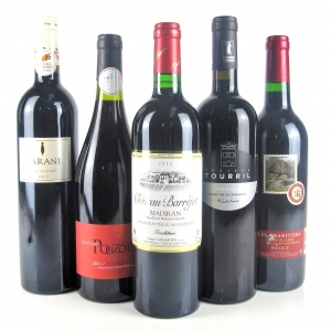 Assorted Southern French Red Wines 5x75cl