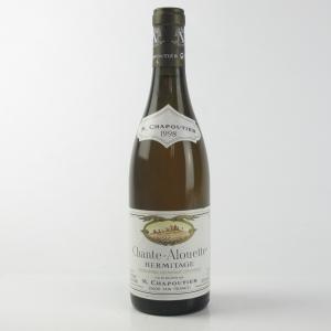 """M.Chapoutier """"Chante-Alouette"""" Blanc 1998 Hermitage"""