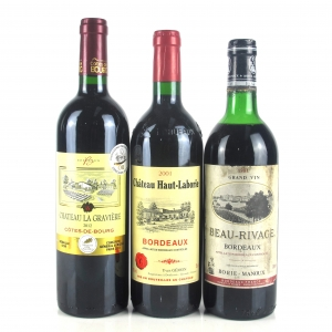 Assorted Bordeaux Red Wines 3x75cl