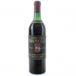 Biondi-Santi 1957 Brunello di Montalcino Riserva
