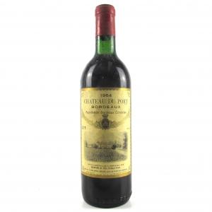 Ch. Du Port 1964 Bordeaux