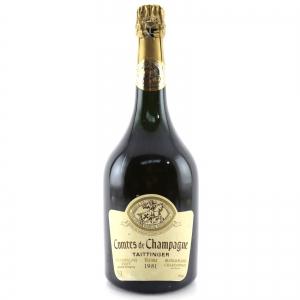 Taittinger Comtes de Champagne 1981 Blanc De Blancs 150cl