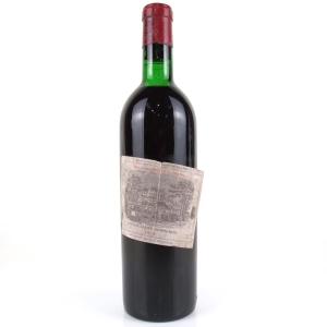 Ch. Lafite-Rothschild 1972 Pauillac 1er-Cru
