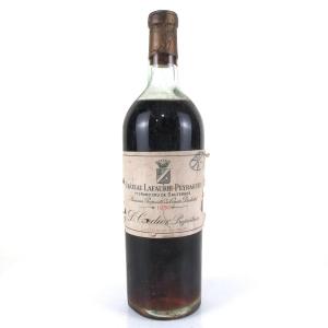 Ch. Lafaurie-Peyraguey 1950 Sauternes 1er-Cru