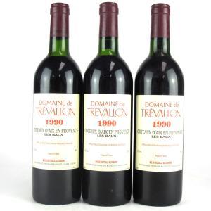 Dom. De Trevallon 1990 Provence 3x75cl